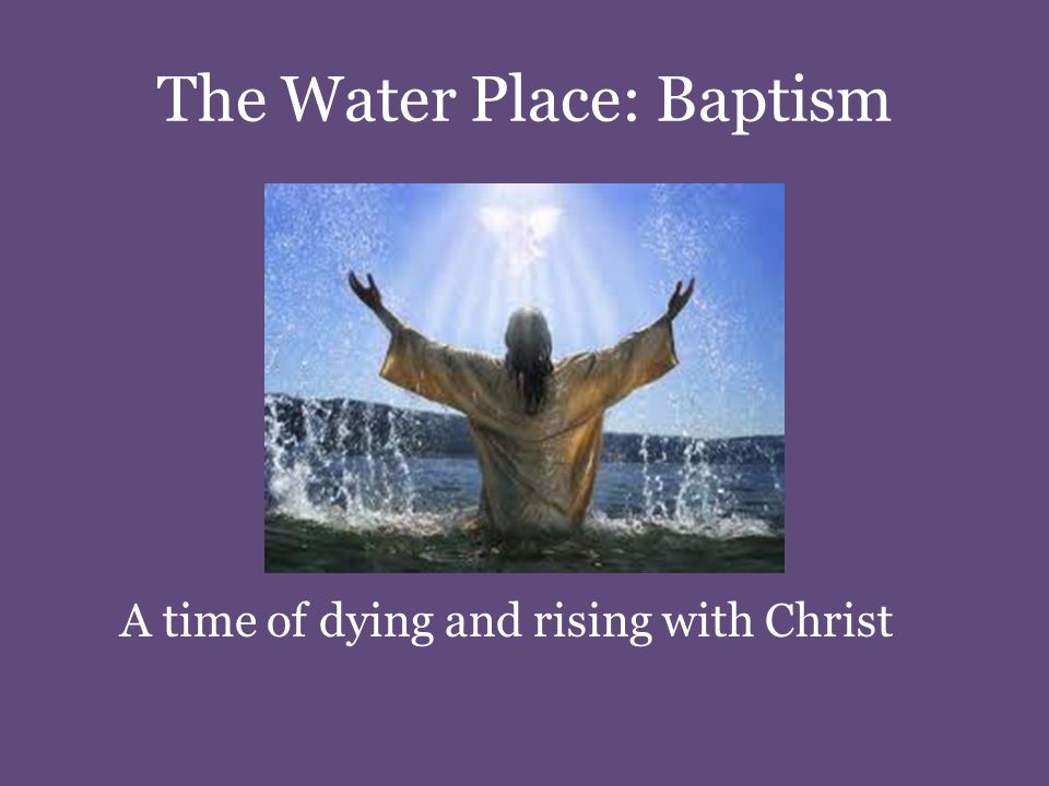 Renewal of Baptismal Promises Do you clearly understand what you are undertaking.