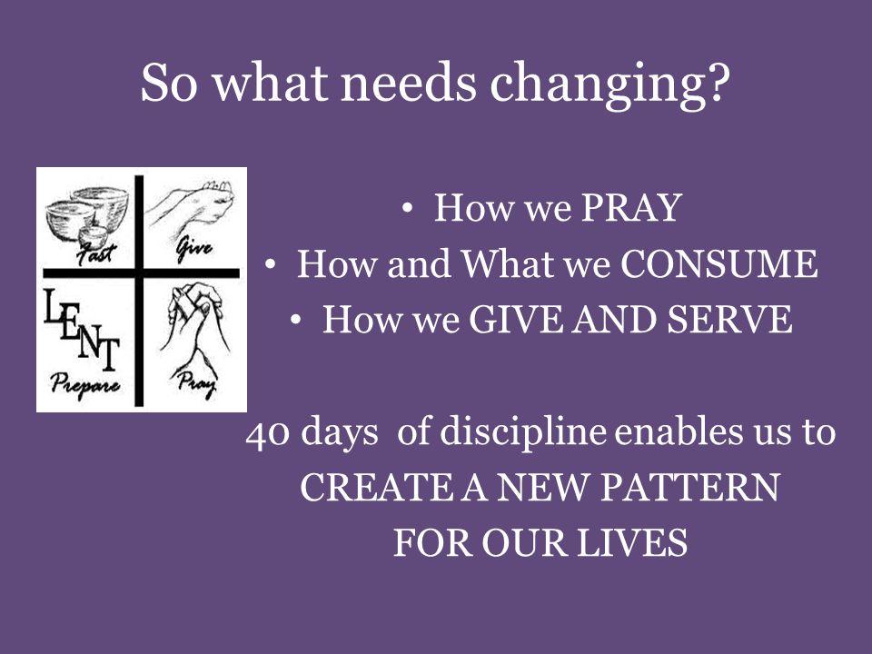 Changing Patterns of...