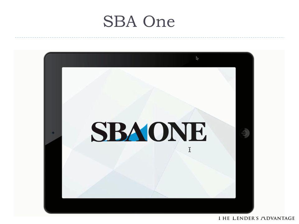 SBA One