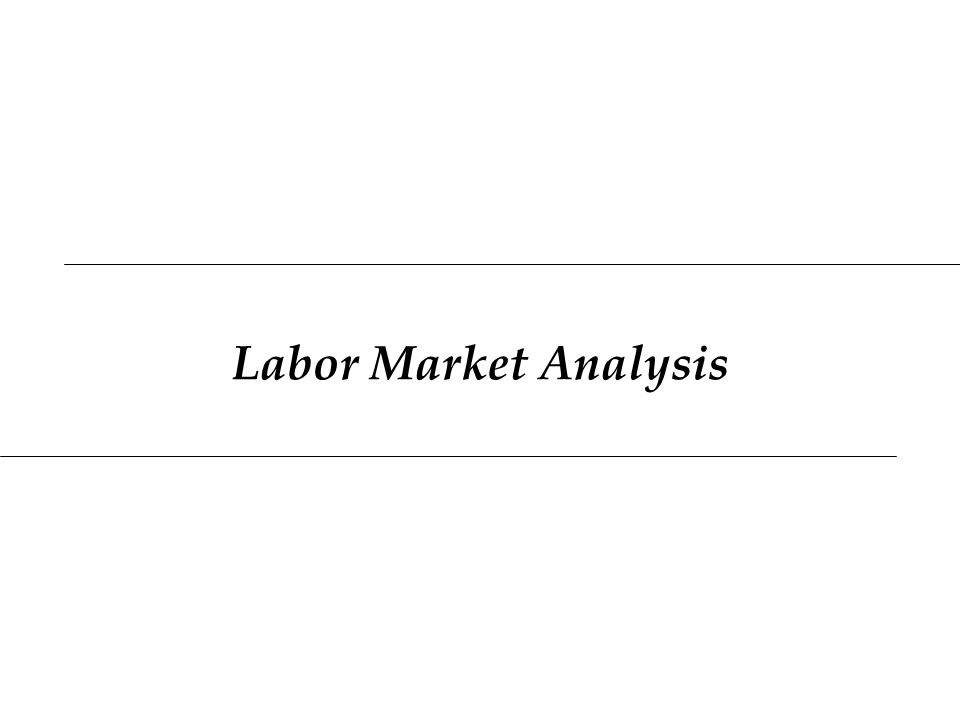 Labor Market Analysis