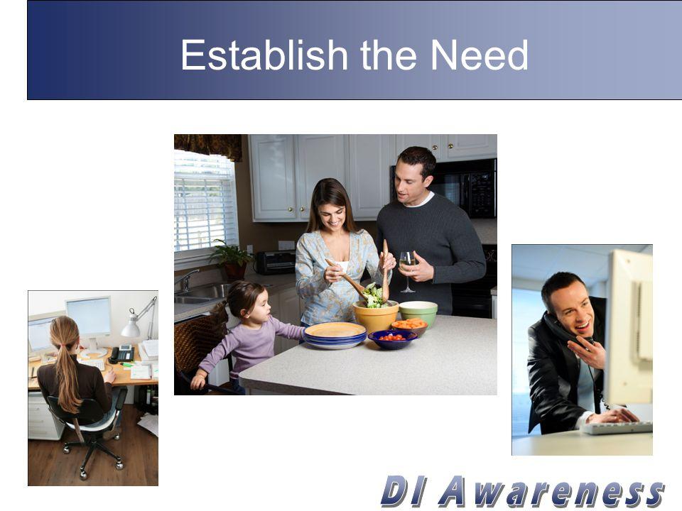 Establish the Need