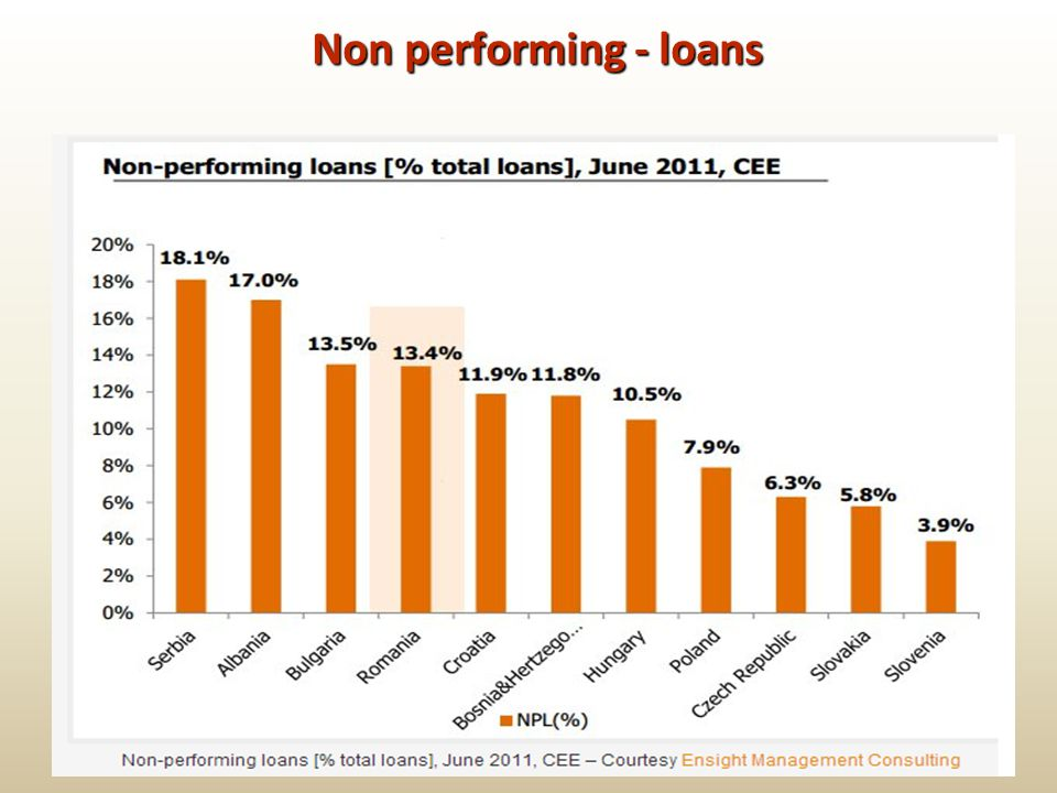Non performing - loans