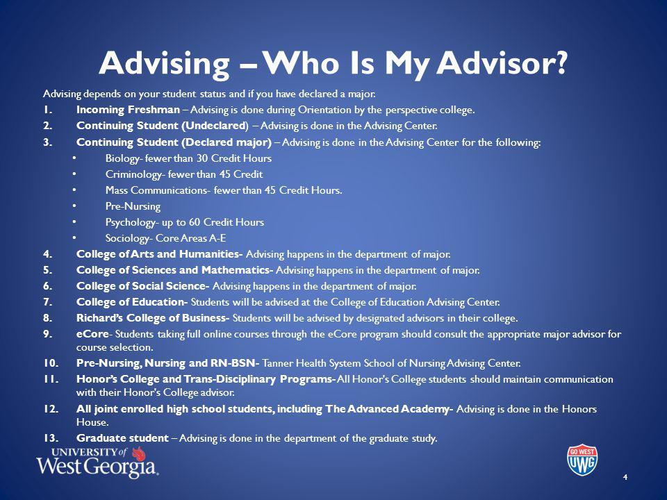 Advising – Who Is My Advisor.