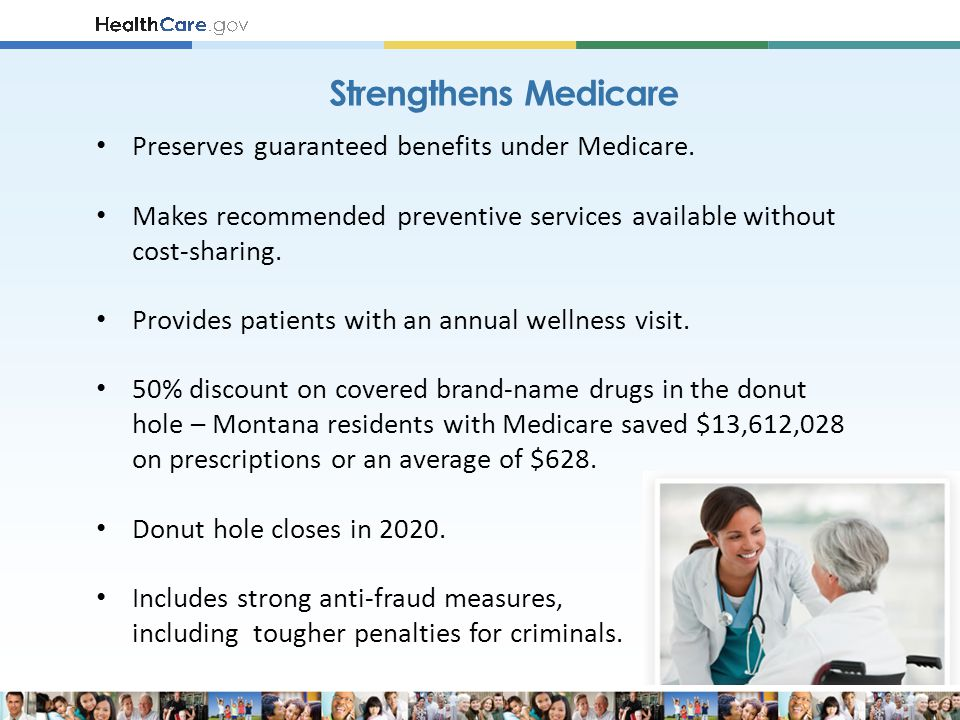 Preserves guaranteed benefits under Medicare.