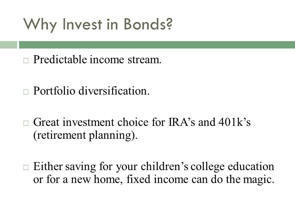 Characteristics of Bond
