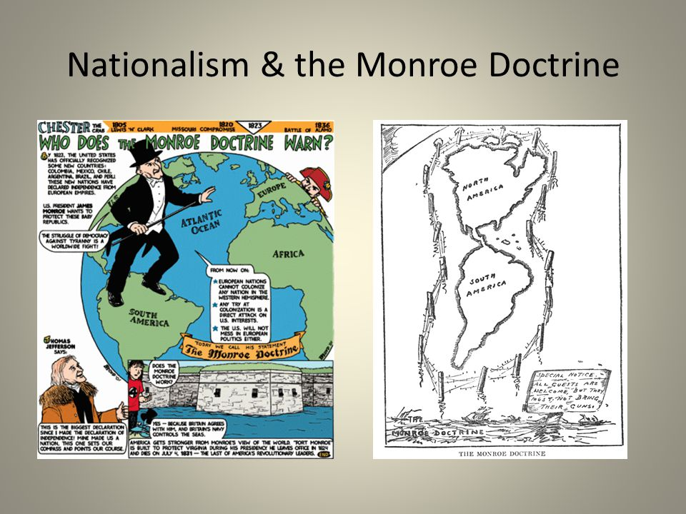 Nationalism & the Monroe Doctrine