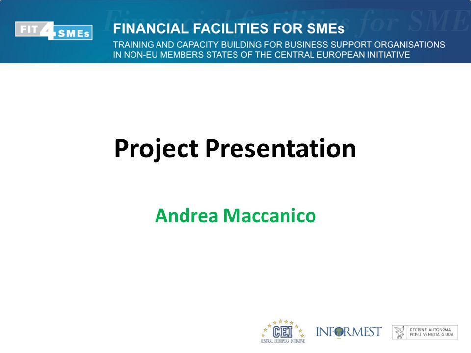Project Presentation Andrea Maccanico