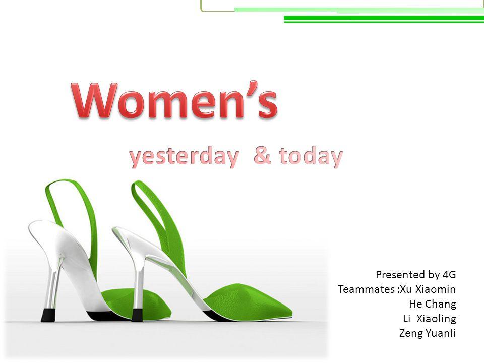 Presented by 4G Teammates :Xu Xiaomin He Chang Li Xiaoling Zeng Yuanli