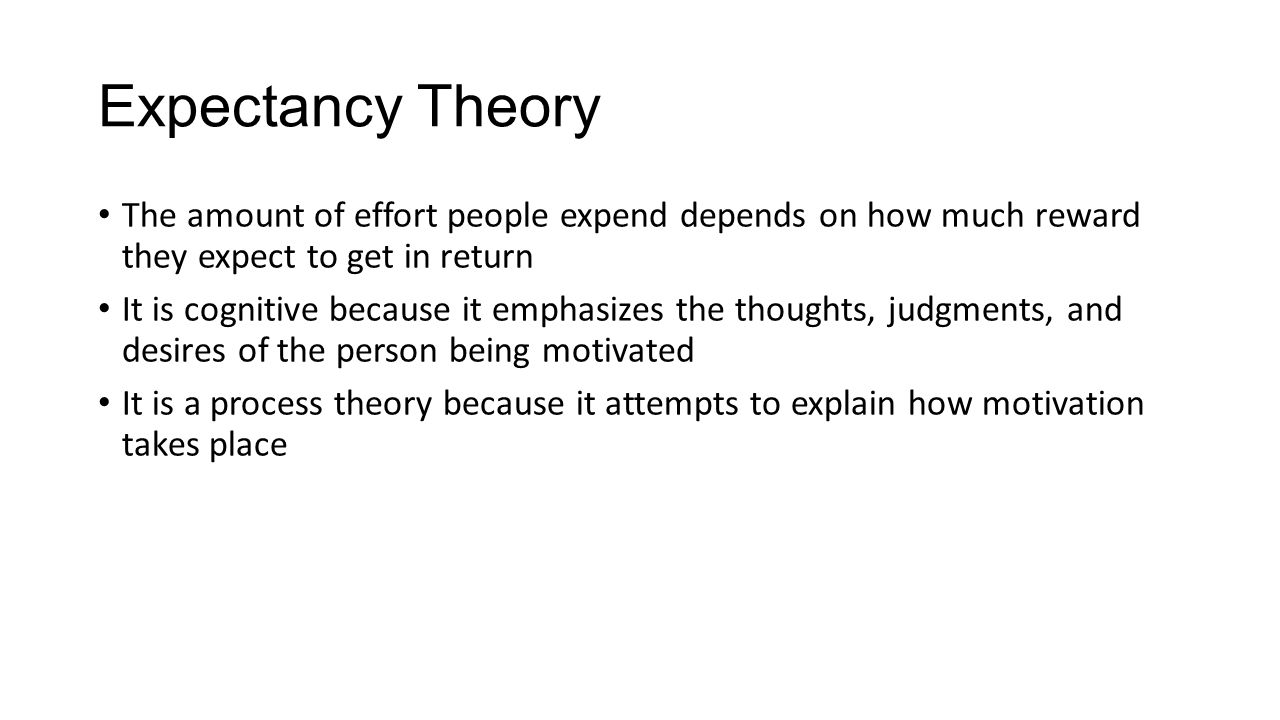 Figure 10-1 The Expectancy Theory of Motivation