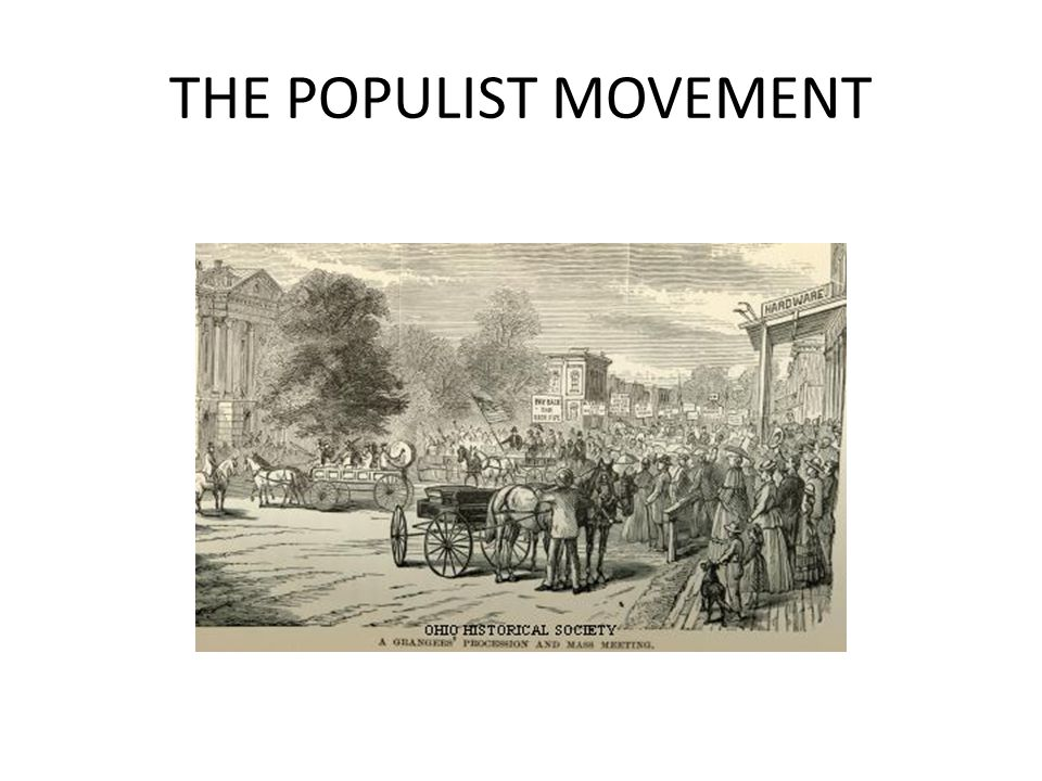 Main criticisms made by Populists: legal system placed too much emphasis on property rights monopolies were an economic and social evil Social Darwinism and laissez-faire were bankrupt ideologies individuals had been turned into economic commodities wealth was unevenly distributed