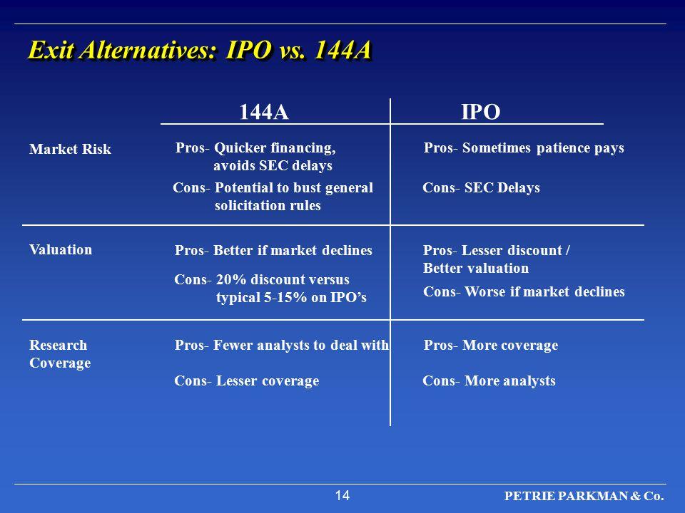14 PETRIE PARKMAN & Co.