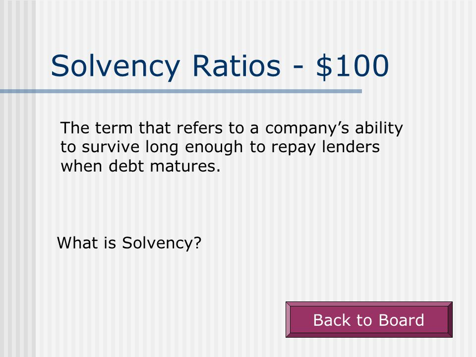 Liquidity Ratios - $500 The process used to calculate the number of days it takes to sell inventory during a year.