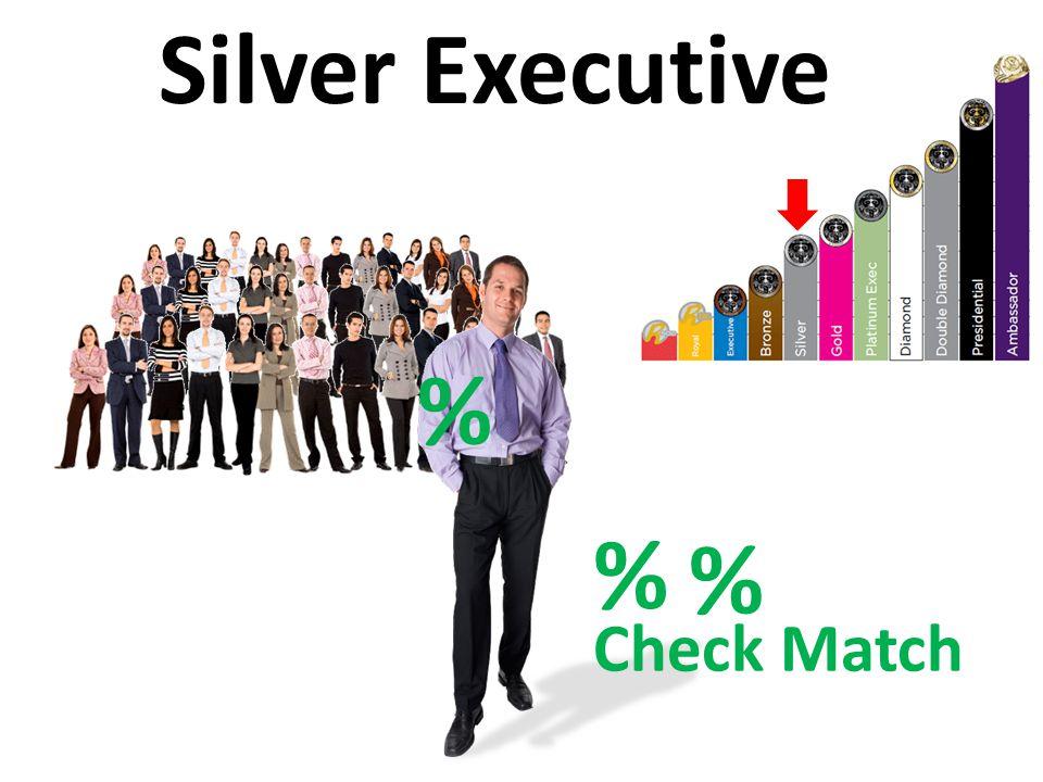 Check Match % Silver Executive % %