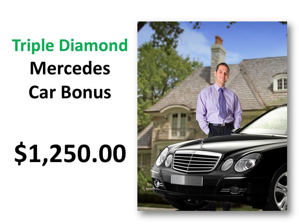 Mercedes Car Bonus $1,250.00