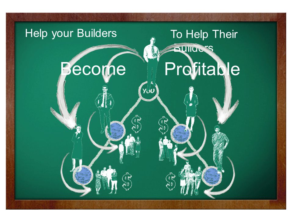 Help your Builders To Help Their Builders Become Profitable