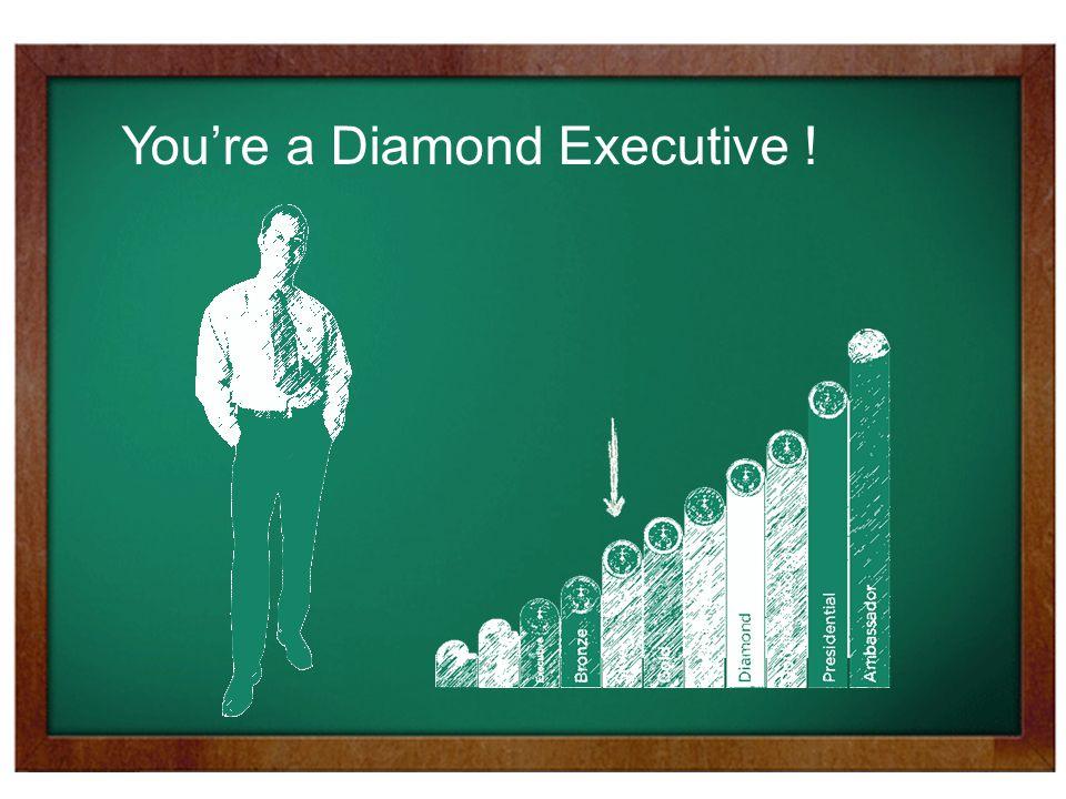 You're a Diamond Executive !