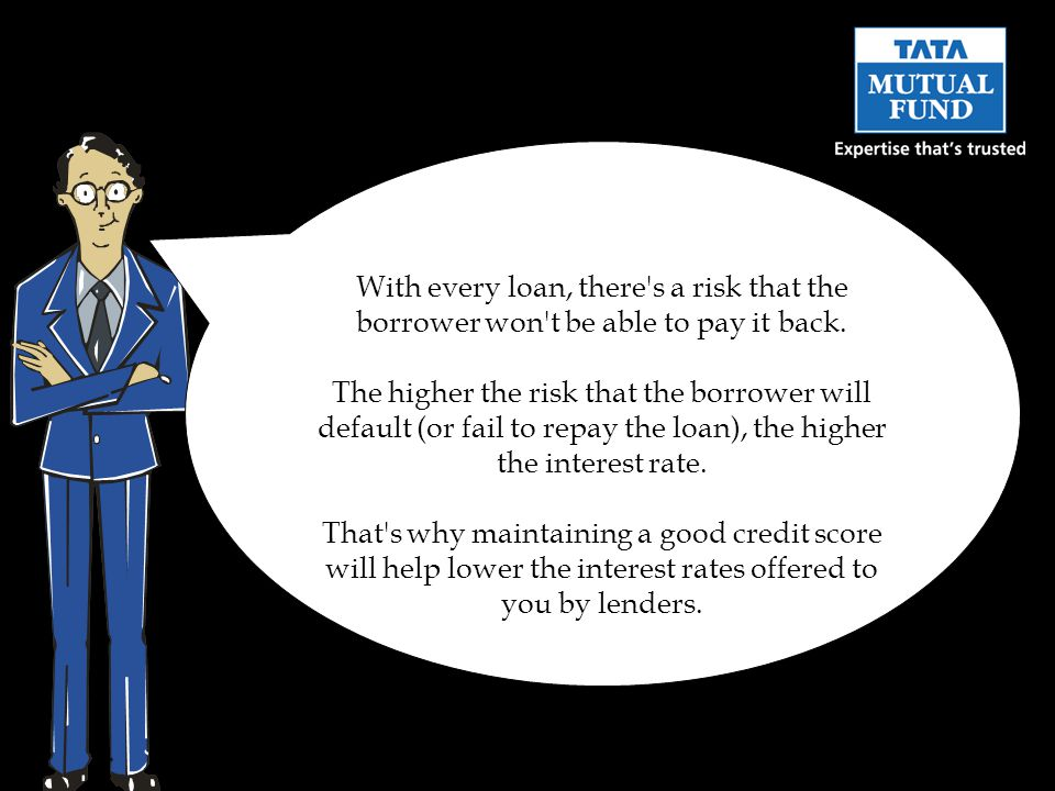 With every loan, there s a risk that the borrower won t be able to pay it back.