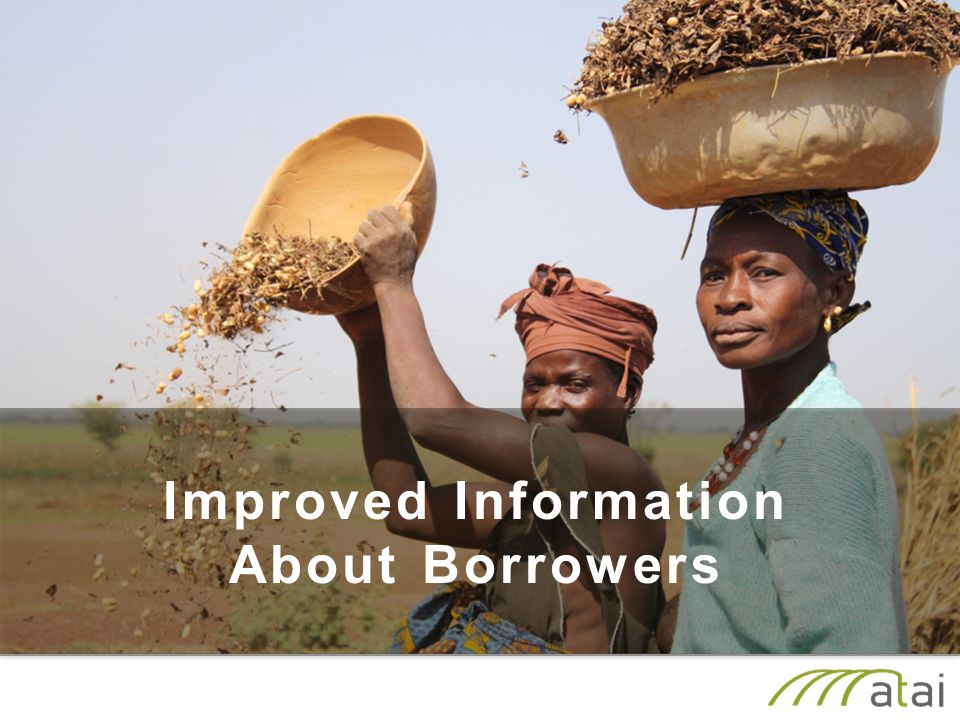 Improved Information About Borrowers