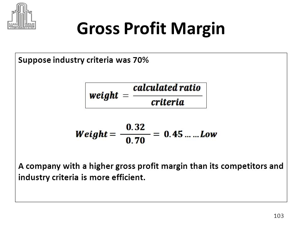 Operating Profit Margin The operating profit margin measures the percentage of each sales dollar remaining after all costs and expenses other than interest, taxes, and preferred stock dividends are deducted.