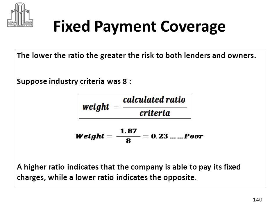 141 Market Ratios