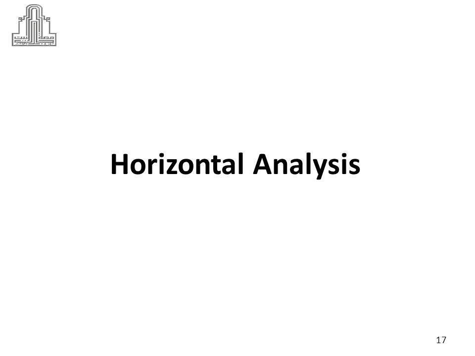 horizontal analysis refers to a type of fundamental analysis in which a financial analyst uses certain financial data to assess a company's performance over time.