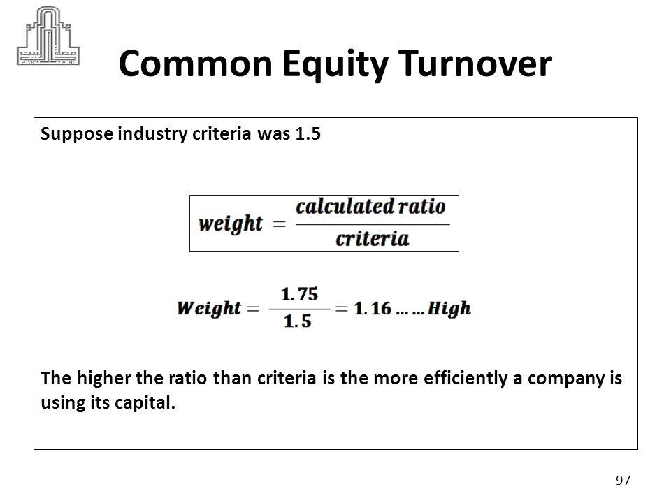 98 Profitability Ratios