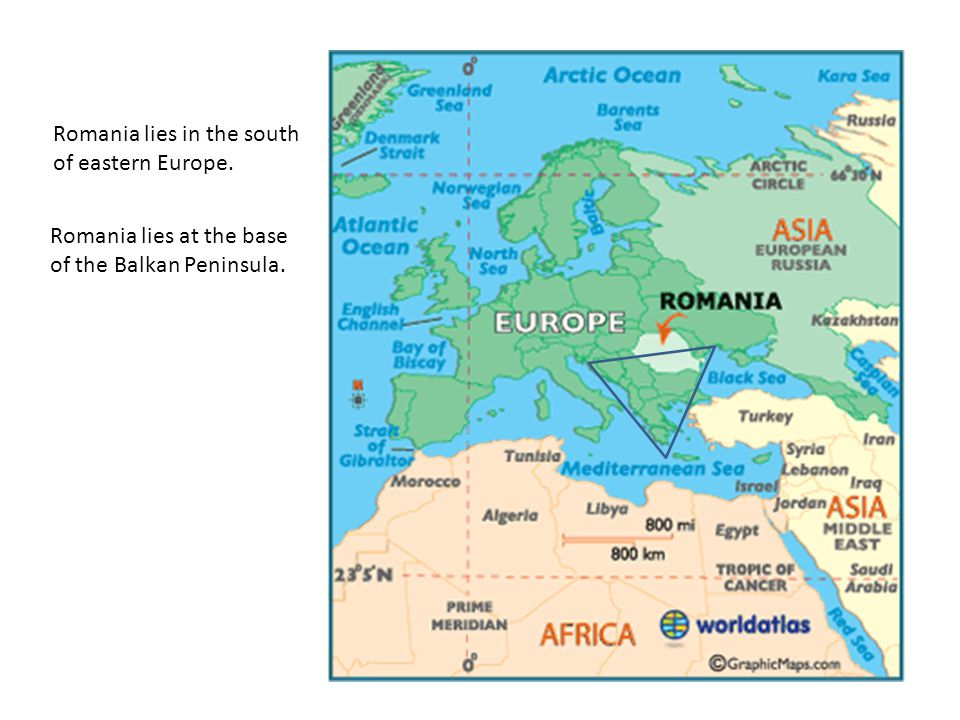 Which country is Romania? Romania Which country is Bulgaria? Bulgaria The Black Sea
