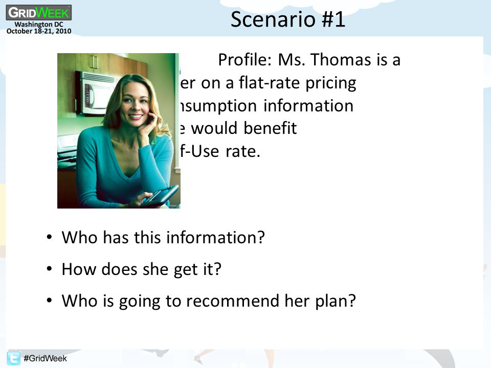 Scenario #2 Profile: Mrs.Smith lives on a modest fixed income and is medically frail.
