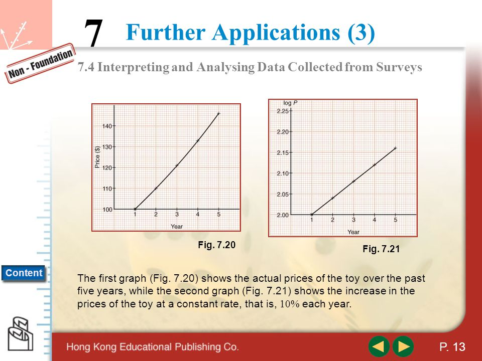 Further Applications (3) 7 Content P.