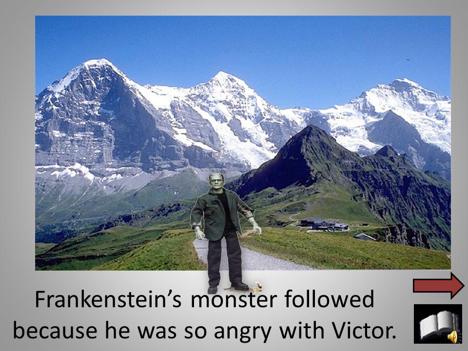 Victor went to Switzerland on his honeymoon with Elizabeth