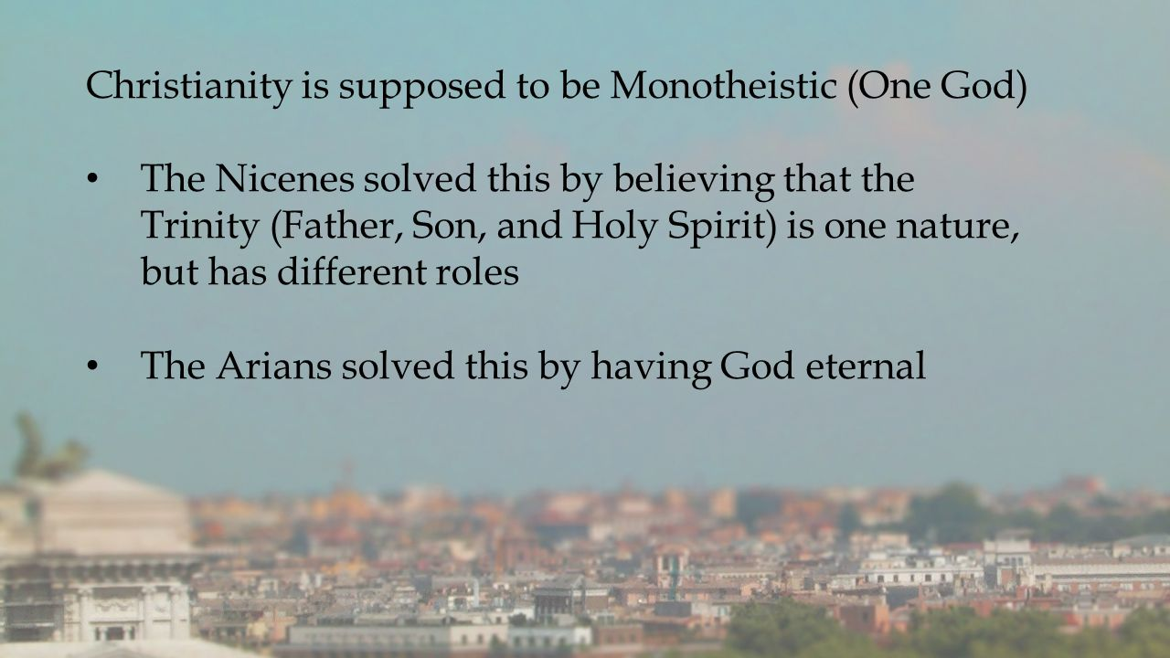 Concept Cloud History of the Arians-- Athanasius
