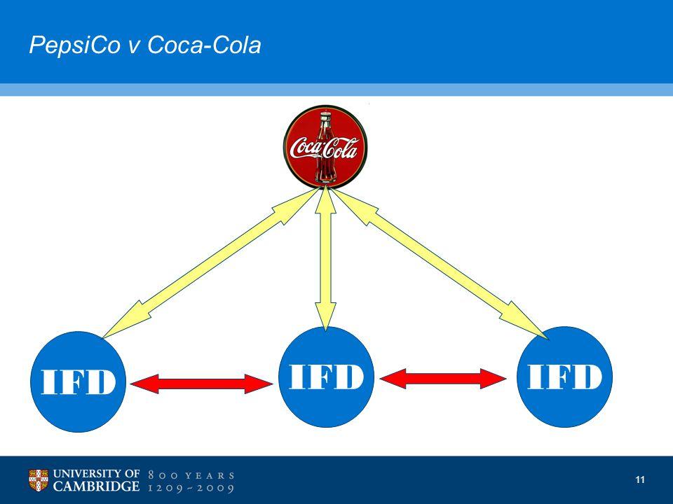11 PepsiCo v Coca-Cola IFD