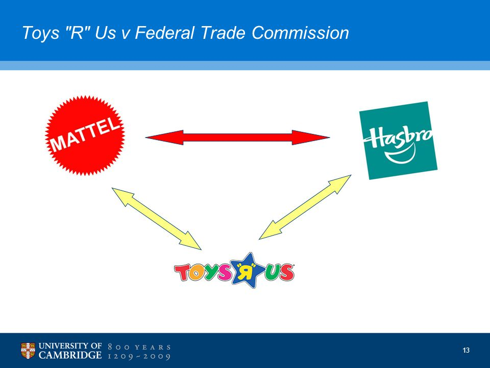 13 Toys R Us v Federal Trade Commission