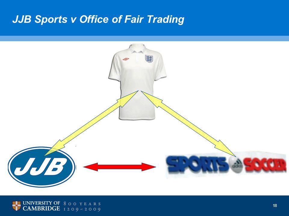 18 JJB Sports v Office of Fair Trading