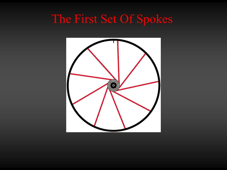 The First Set Of Spokes