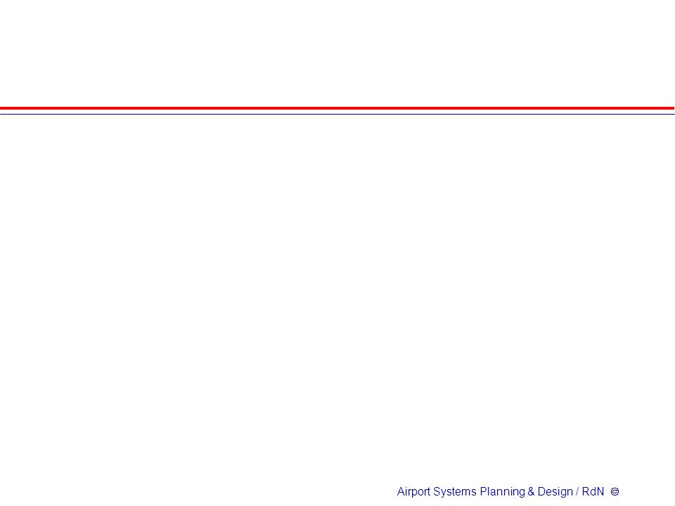 Airport Systems Planning & Design / RdN 