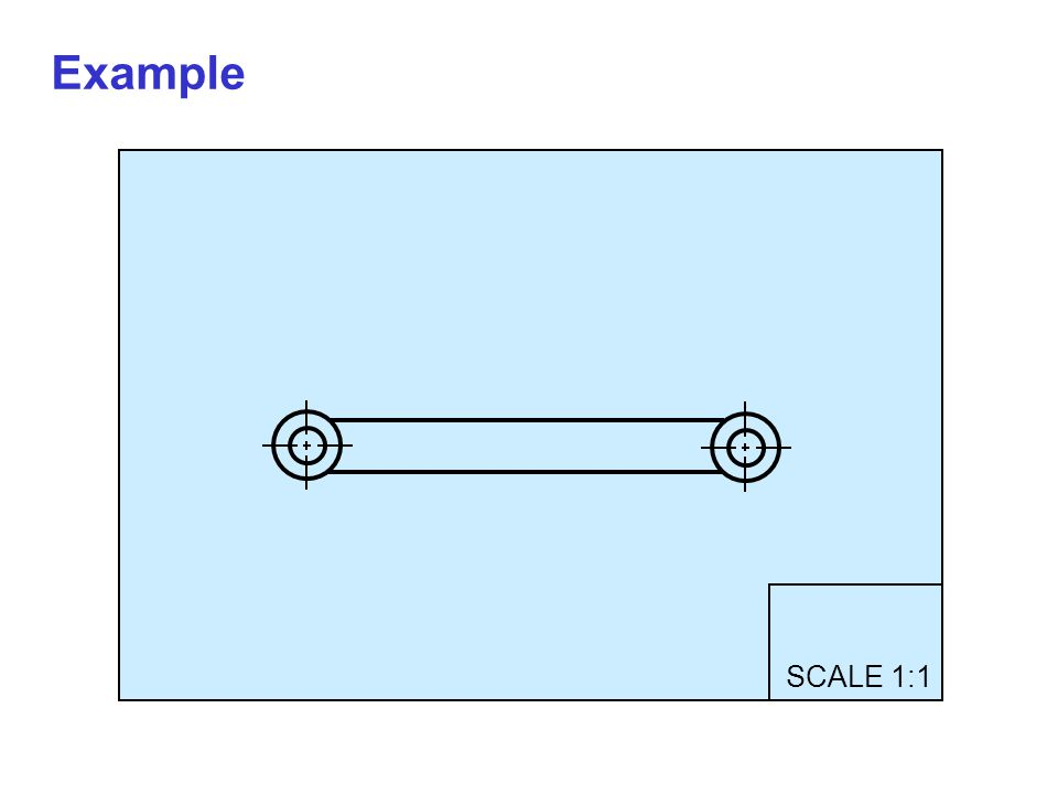 SCALE 1:1 Example