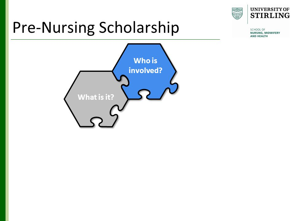 Who is involved What is it Hub & Spoke Where How Benefits Why Pre-Nursing Scholarship