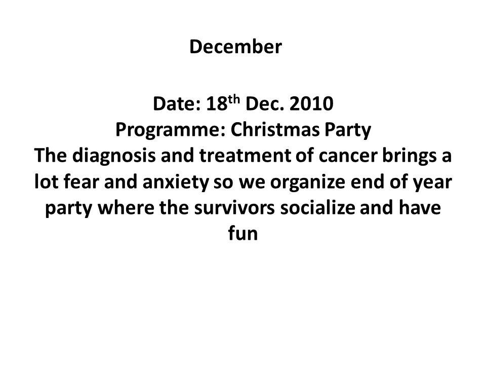 December Date: 18 th Dec.