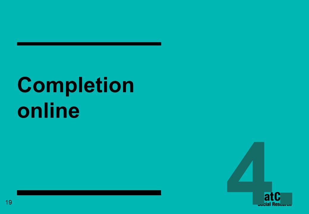 19 Completion online 4.
