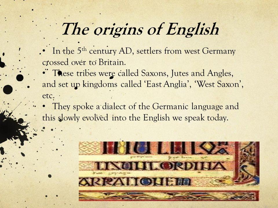 Old English (c.