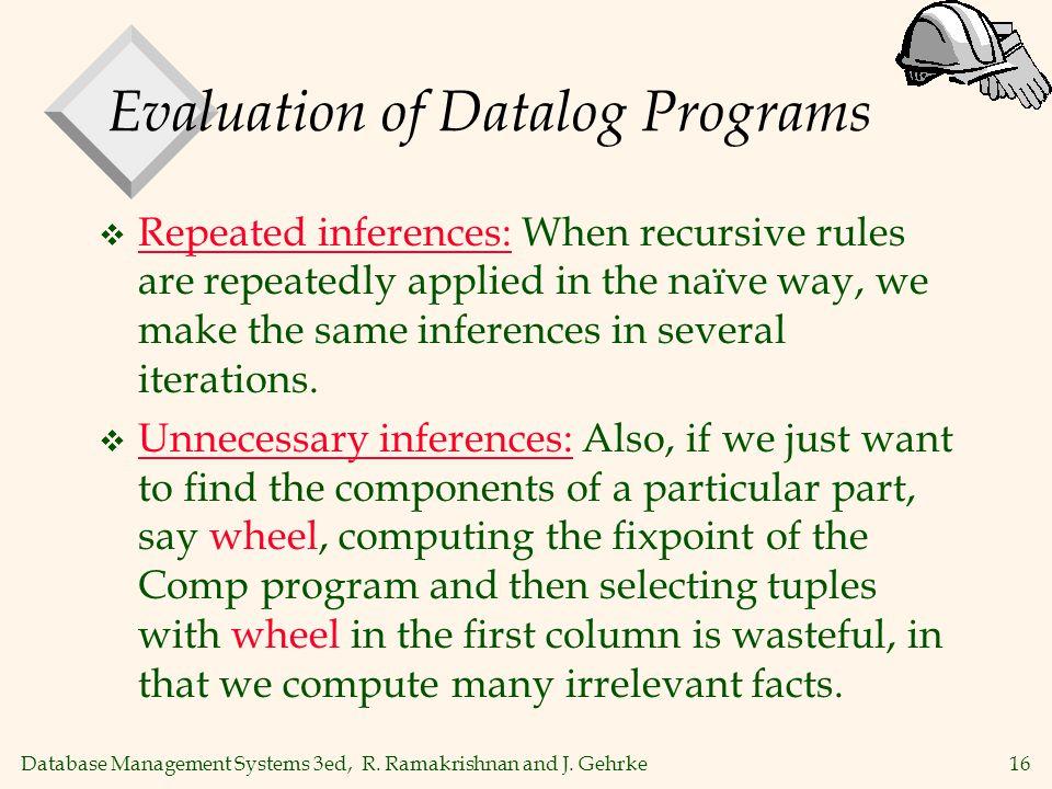 16 Database Management Systems 3ed, R. Ramakrishnan and J.