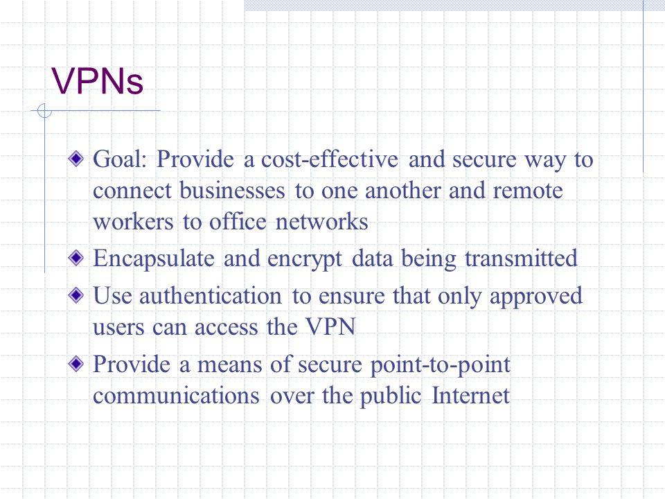 Advantages and Disadvantages of VPNs