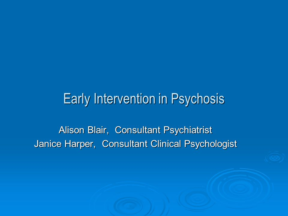 EIP Service Delivery  Best practice principles  Evidence base and Early Psychosis Declaration  But  Demography, geography, resources, financial pressures mean compromise.