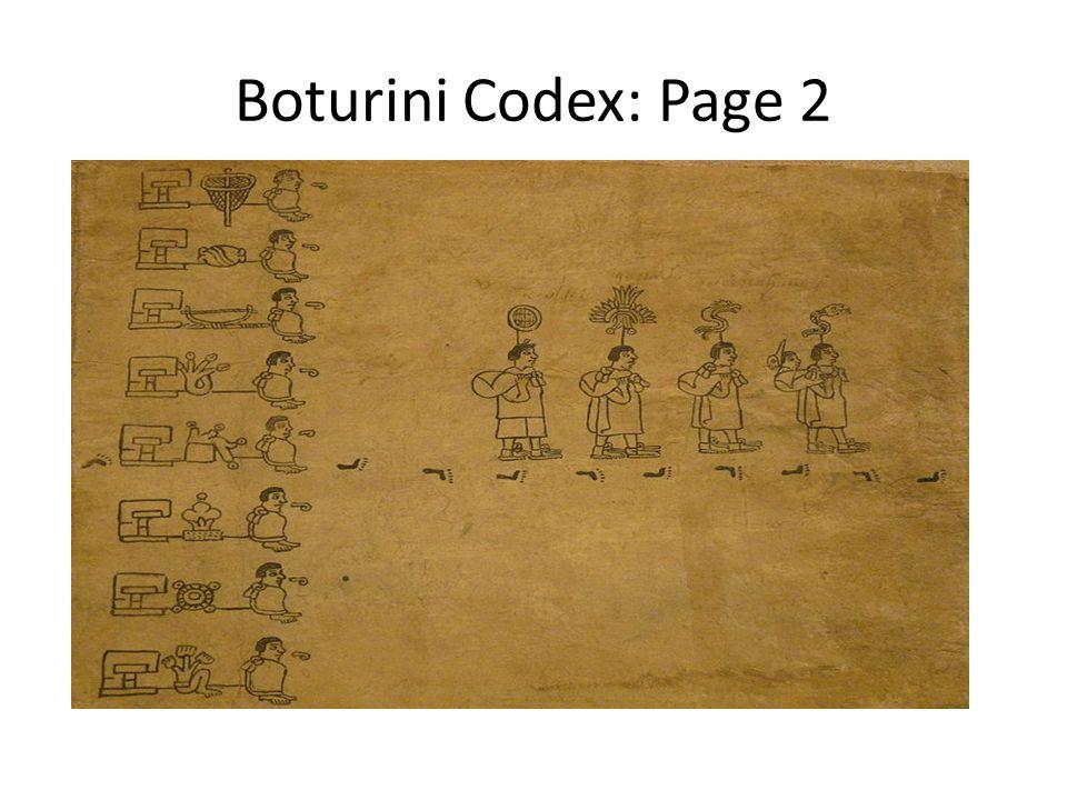 Boturini Codex: Page 2