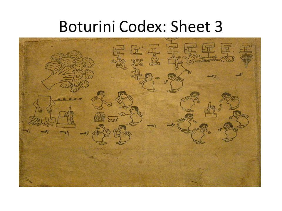 Boturini Codex: Sheet 3