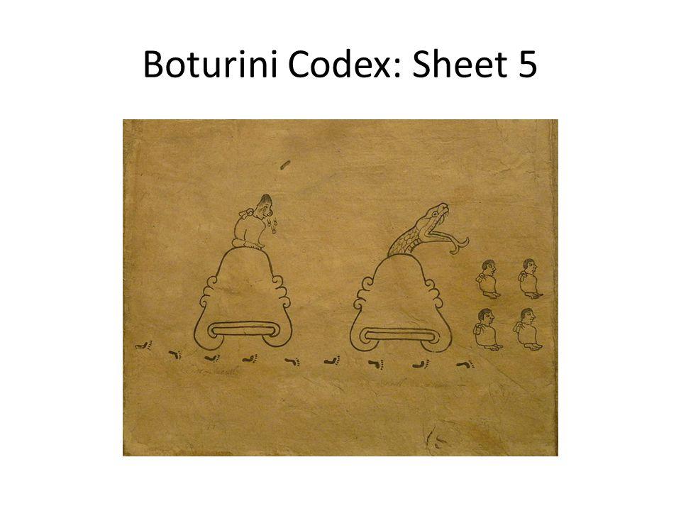 Boturini Codex: Sheet 5