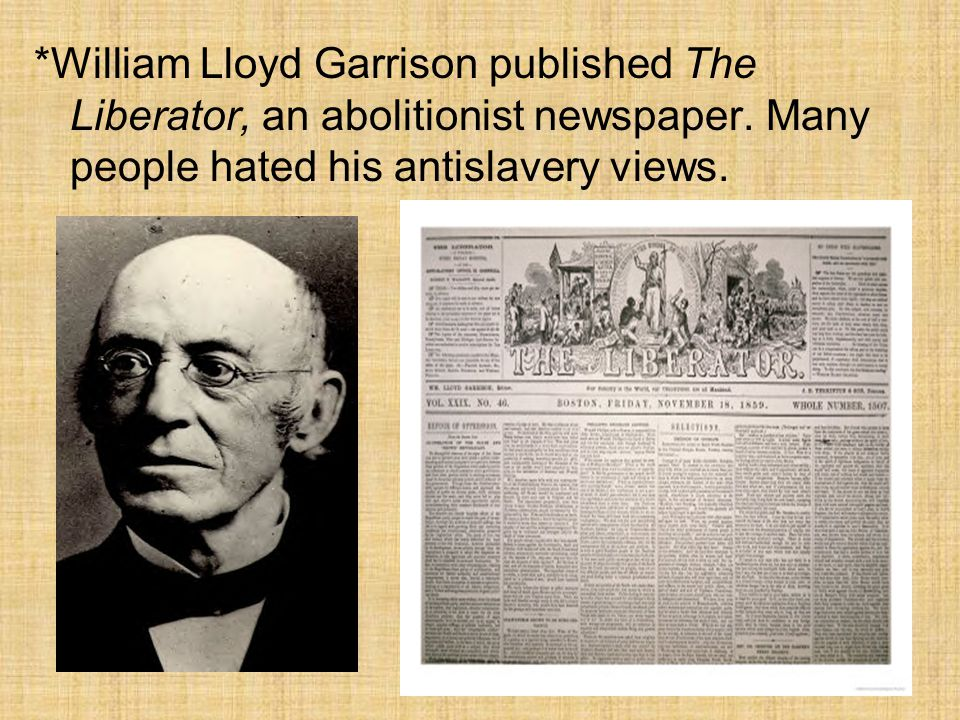 quotwilliam lloyd garrison the agitatorquot essay This 446 page document (reader) was uploaded by allegra print & imaging to studysoup on thu jan 23 20:10:59 2014 since its upload, it has received.