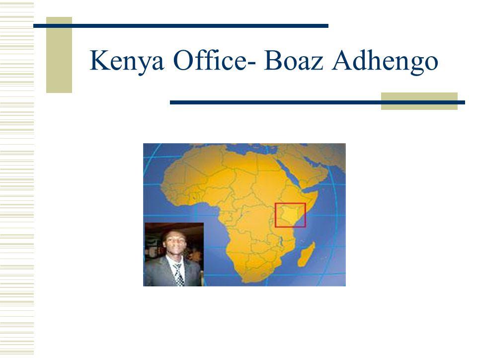 Kenya Office- Boaz Adhengo