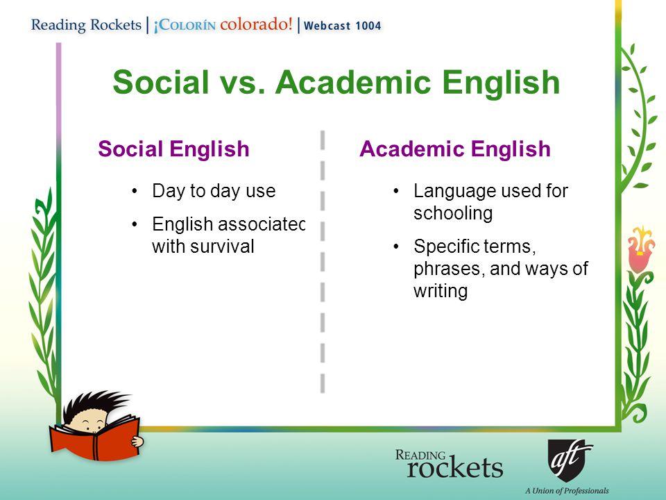 Social vs.